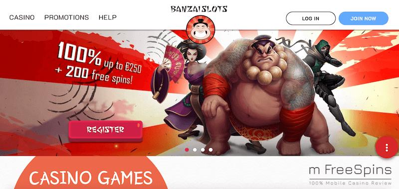 BanzaiSlots Mobile Casino Review