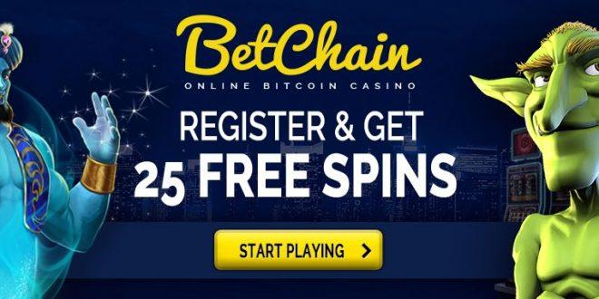 Betchain bitcoin casino free spins no deposit