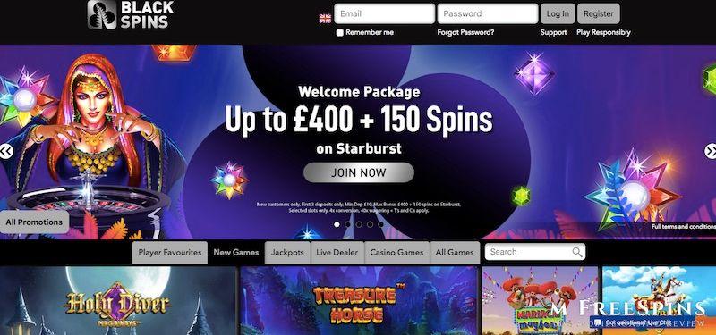BlackSpins Mobile Casino Review