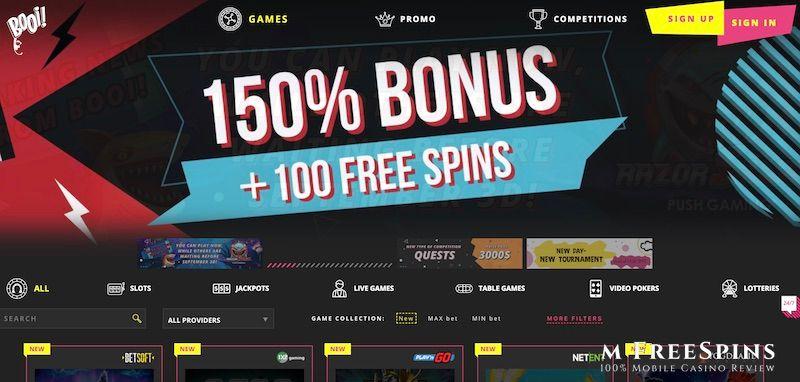 Booi Mobile Casino Review