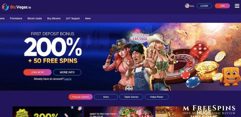 Btc Vegas Mobile Casino Review