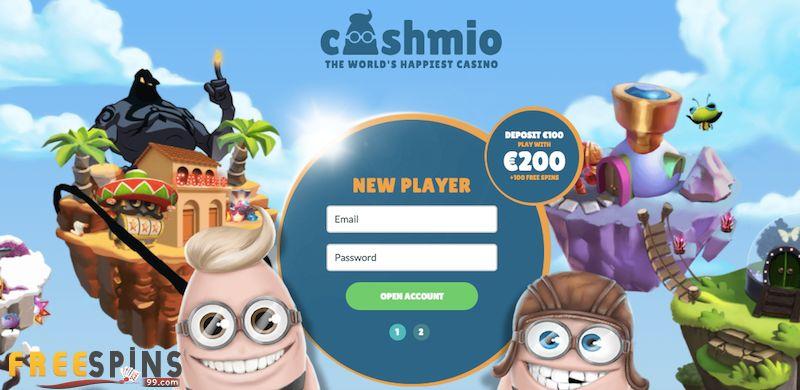 Cashmio Casino no deposit bonus