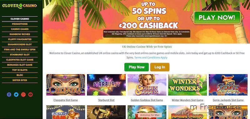 Clover Mobile Casino Review