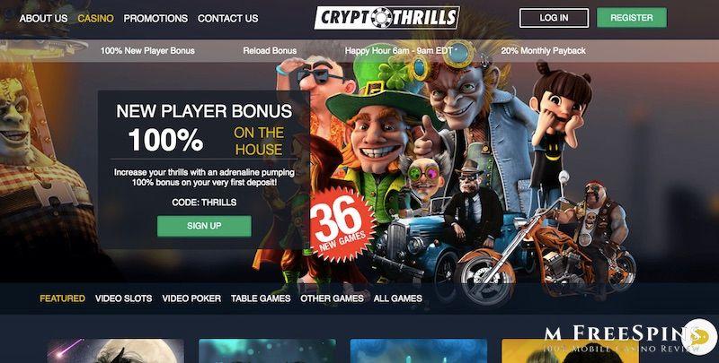 Crypto Thrills Casino Free Spins No Deposit on Throne of Gold