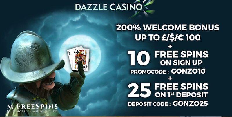 Dazzle Mobile Casino Review