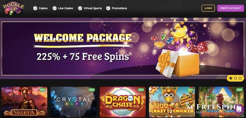 DoubleUp Mobile Casino Review
