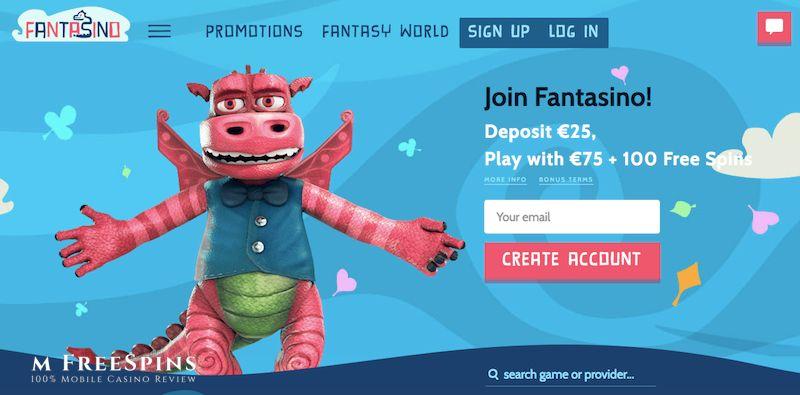 Fantasino Mobile Casino Review