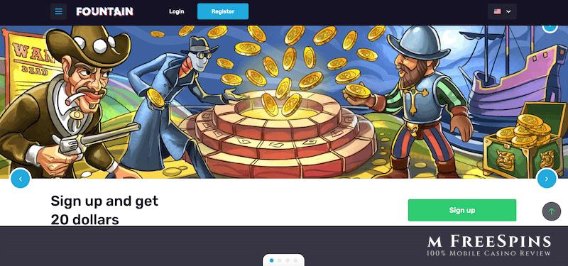Fontan Mobile Casino Review