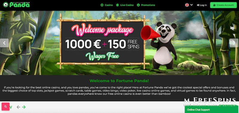 Fortune Panda Mobile Casino Review