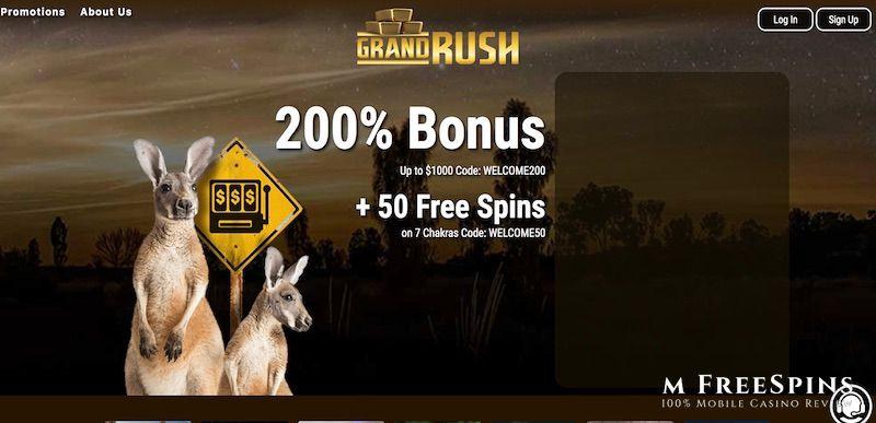 Grand Rush Mobile Casino Review