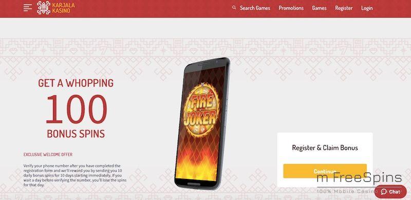 Karjala Mobile Casino Review