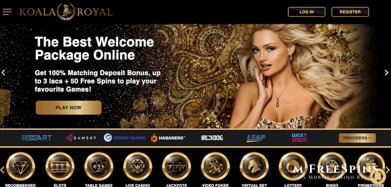 Koala Royal Mobile Casino Review