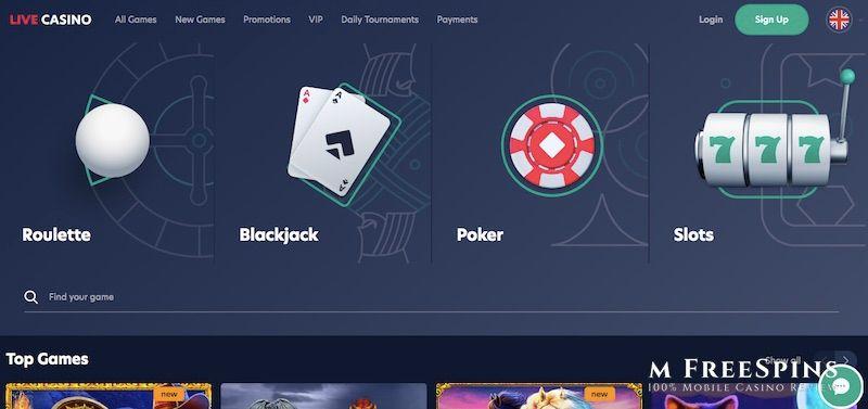 Live Mobile Casino Review