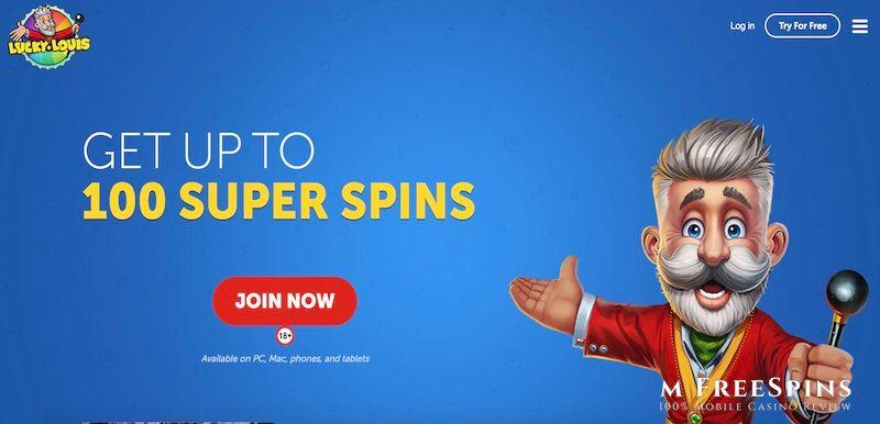 LuckyLouis Mobile Casino Review