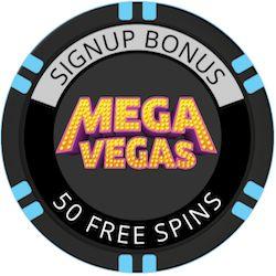 MegaVegas bitcoin casino no deposit bonus