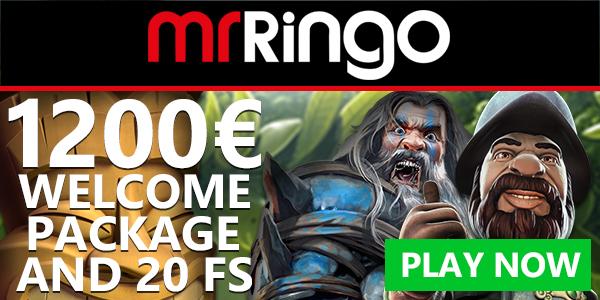 MrRingo Casino exlusive no deposit bonus