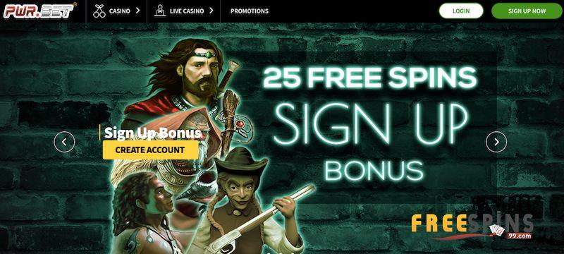 PWR Bet Casino bonus