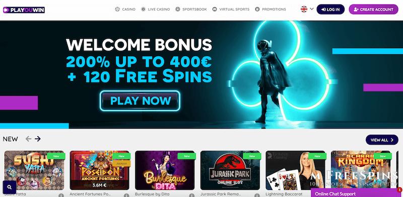 PlaYouWin Mobile Casino Review