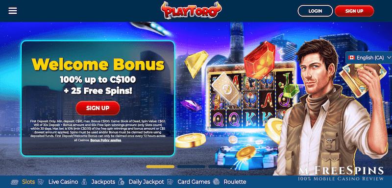 PlayToro Mobile Casino Review