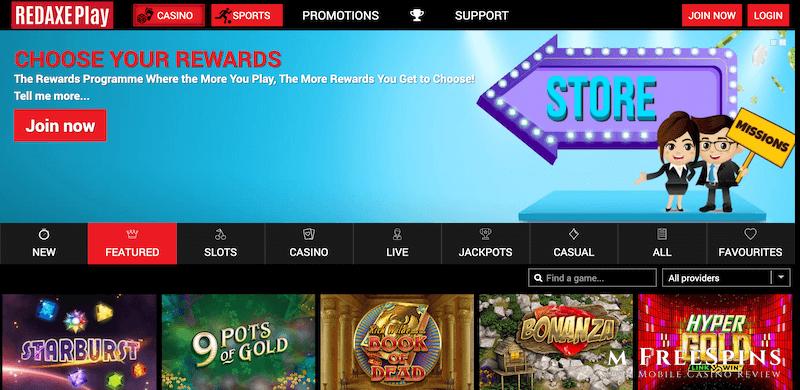 RedAxePlay Mobile Casino Review
