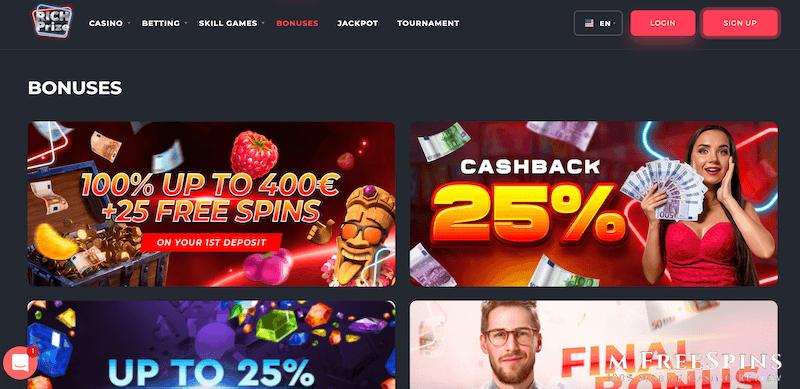 RichPrize Mobile Casino Review