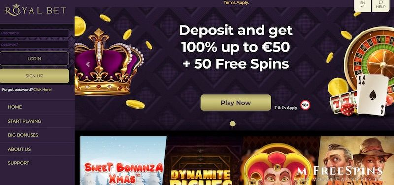 Royalbet Mobile Casino Review
