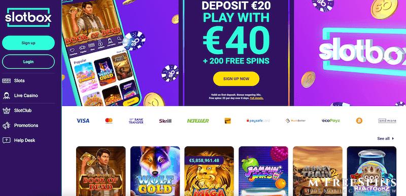 SlotBox Mobile Casino Review