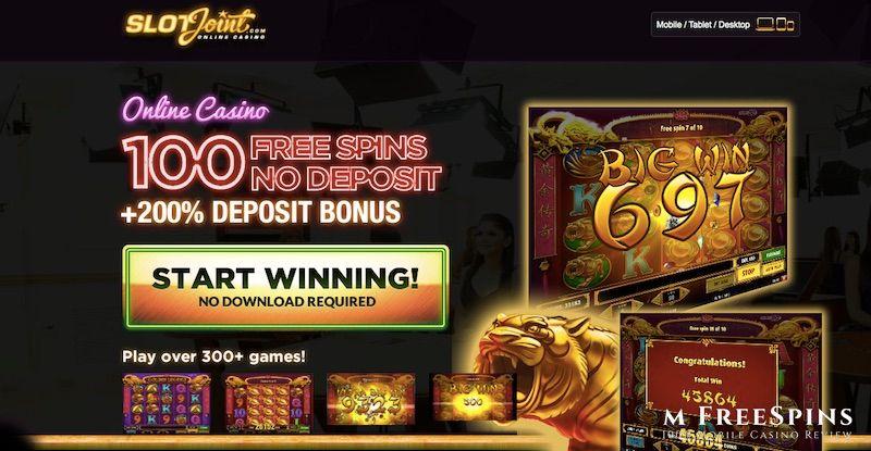 SlotJoint Mobile Casino Review