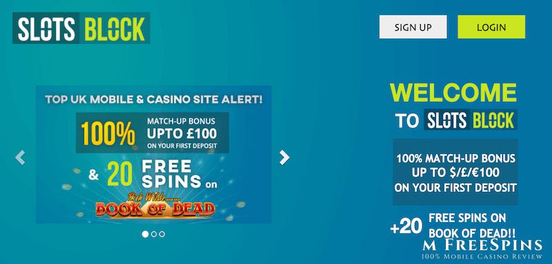 Slots Block Mobile Casino Review