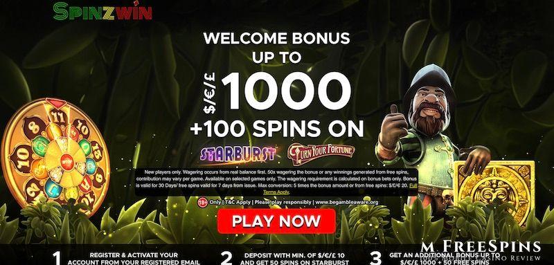 Spinzwin Mobile Casino Review