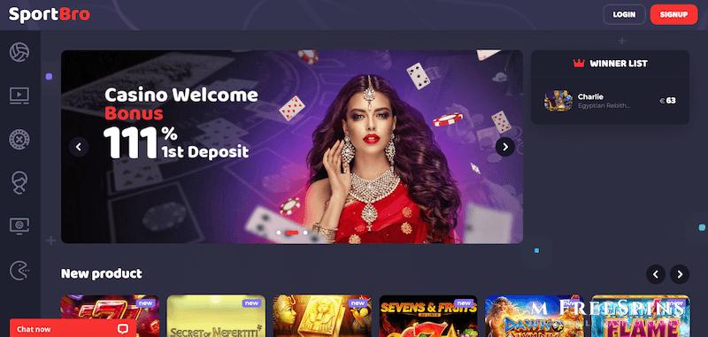SportBro Mobile Casino Review
