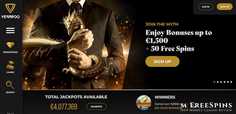 Vegasoo Mobile Casino Review