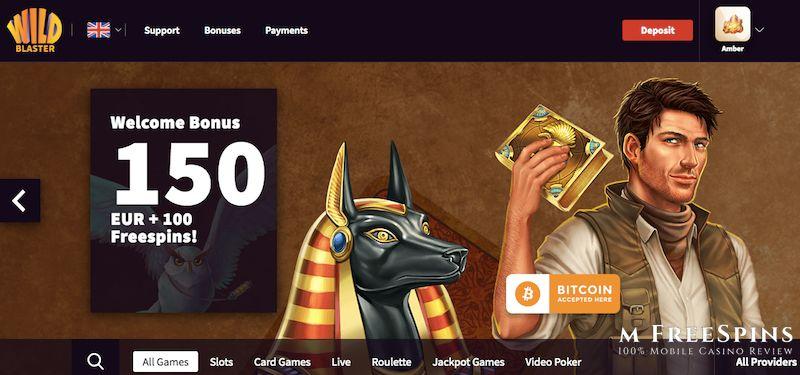 WildBlaster Mobile Casino Review