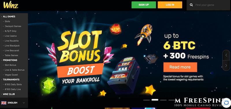 Winz Mobile Casino Review
