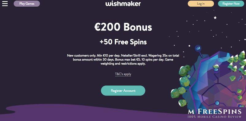 Wishmaker Mobile Casino Review