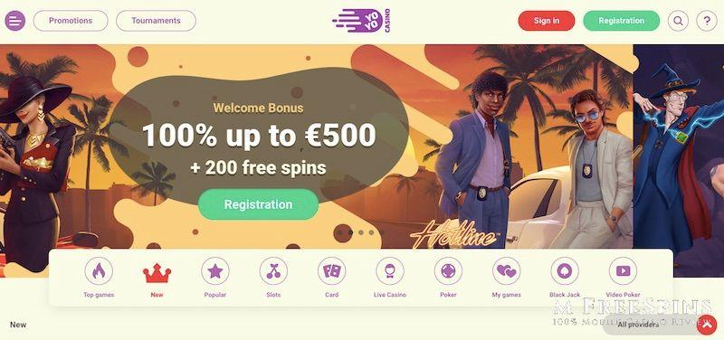 Yoyo Mobile Casino Review