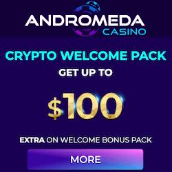 andromeda casino no deposit bonus