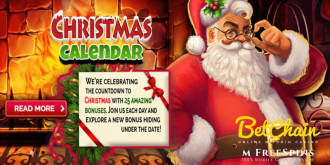 betchain christmas calendar 2020