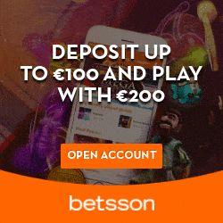 betsson casino no deposit bonus