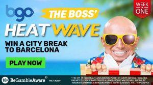 bgo The Boss Heatwave Promo