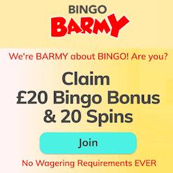 bingo barmy casino no deposit bonus