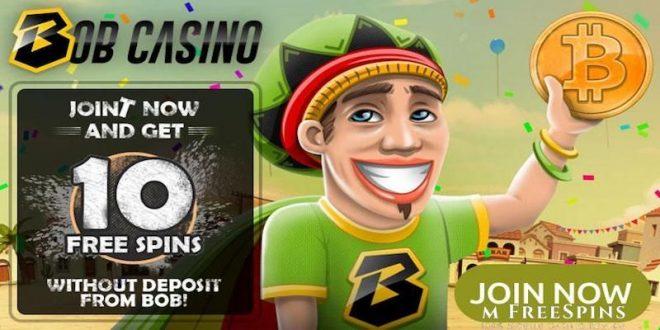 bob casino bitcoin free spins no deposit bonus
