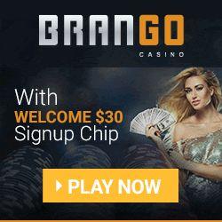 Brango Bitcoin Casino Bonus 30 Free Chip No Deposit