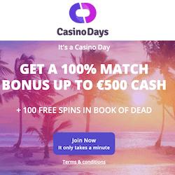 casino days no deposit bonus