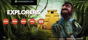 casinoluck explorers promo free spins
