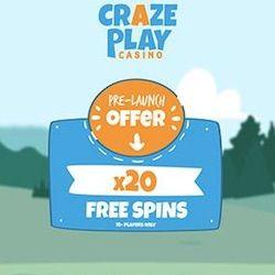 crazeplay casino no deposit bonus