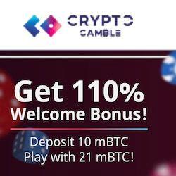 crypto gamble casino no deposit bonus