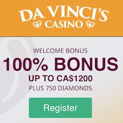 davincis casino no deposit bonus