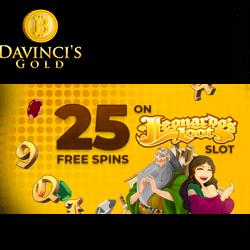 davincis gold casino no deposit bonus