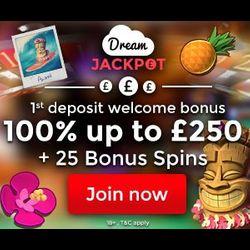 dream jackpot casino no deposit bonus